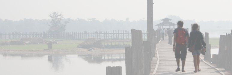 U Bein Bridge at Amarapura