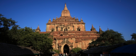 The tallest temple in Bagan