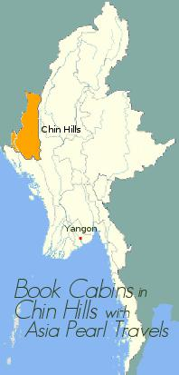 Map showing Chin State.
