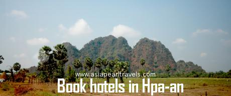 Book hotels in Hpa-an with Asia Pearl Travels.