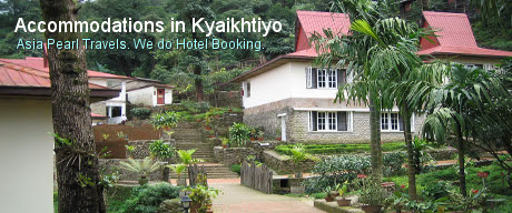 Accommodations in Kyaikhtiyo
