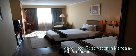 Make Hotel Reservations in Mandalay with Asia Pearl Travels