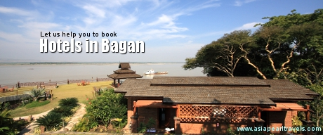 Let us help you to book hotels in Bagan.
