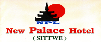 New Palace Hotel Sittway Logo
