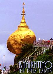 Kyaikhtiyo Pagoda on the Golden Rock