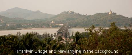 Thanlwin Bridge, Mawlamyine