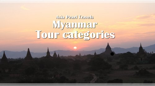 Bagan Temples background. Tour Categories