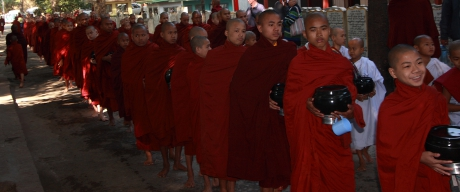 Young Monks in Mandalay