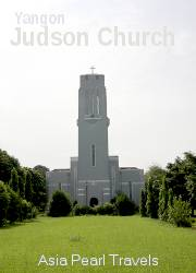 Judson Church in Yangon.
